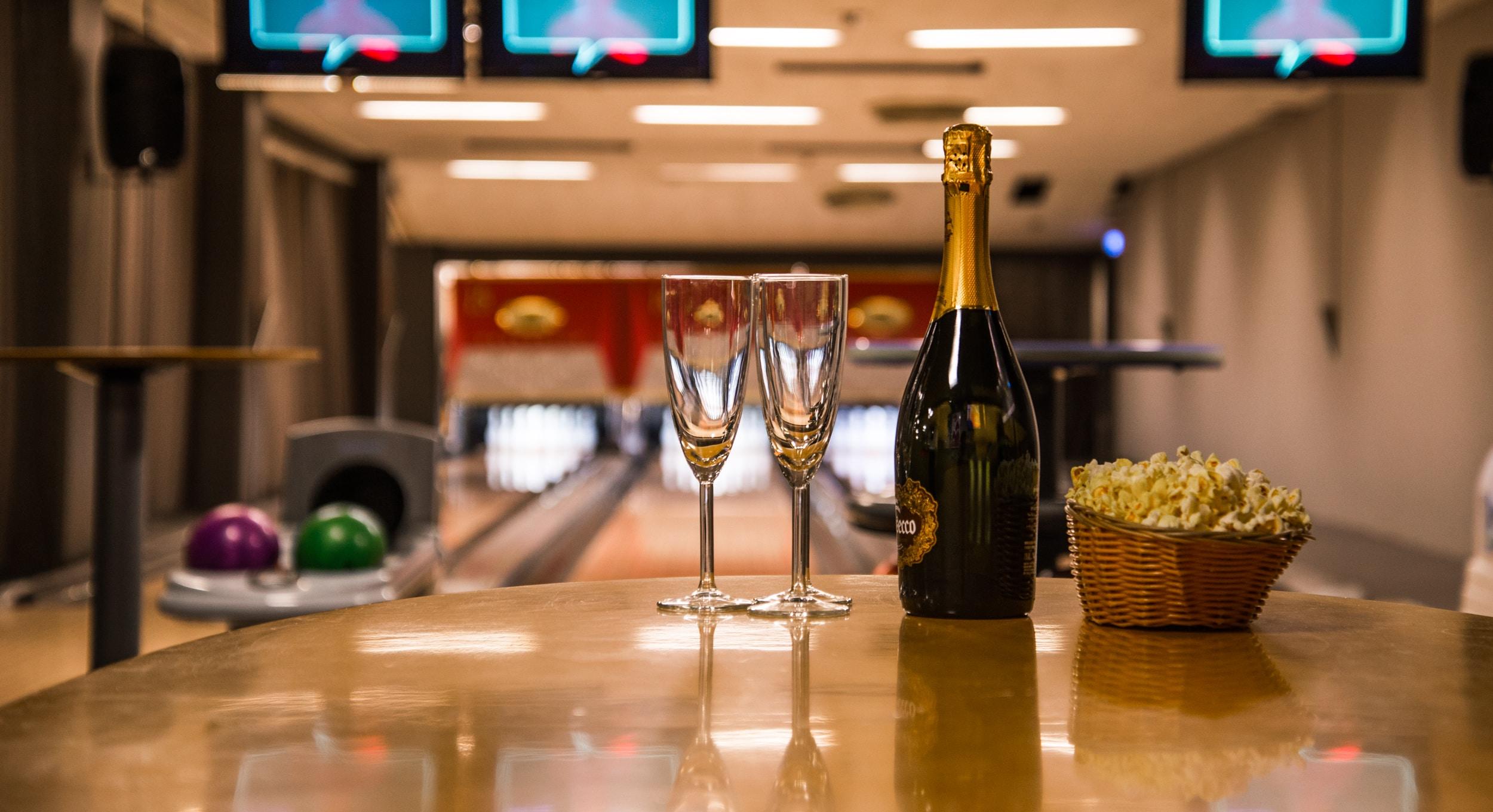 Birka Bowling - VIP-lounge