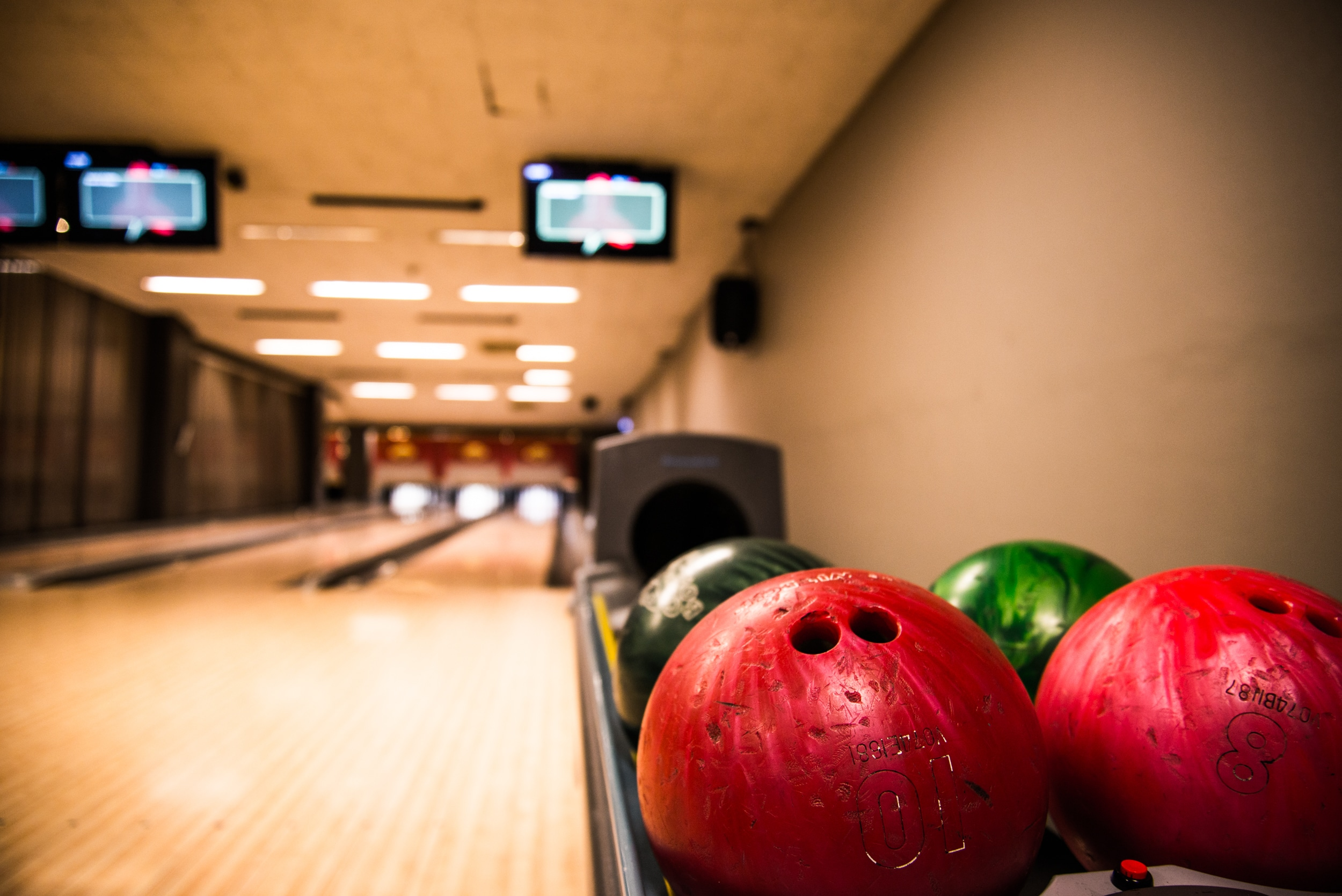 Bowlingkalas i VIP-lounge