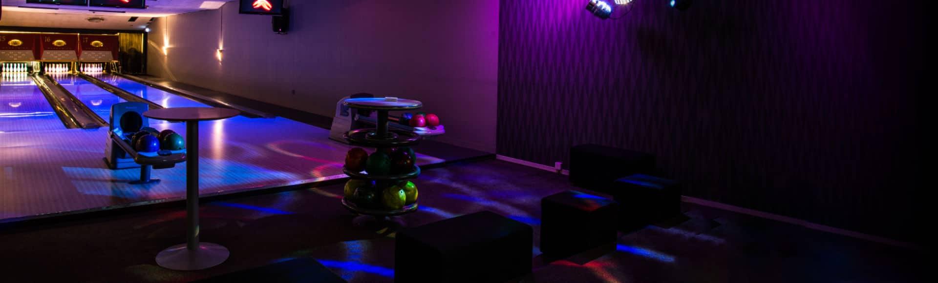VIP-lounge och bowling