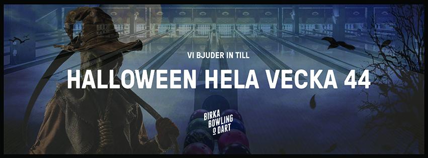 BOKA HALLOWEENBOWLING PÅ BIRKAGATAN 16