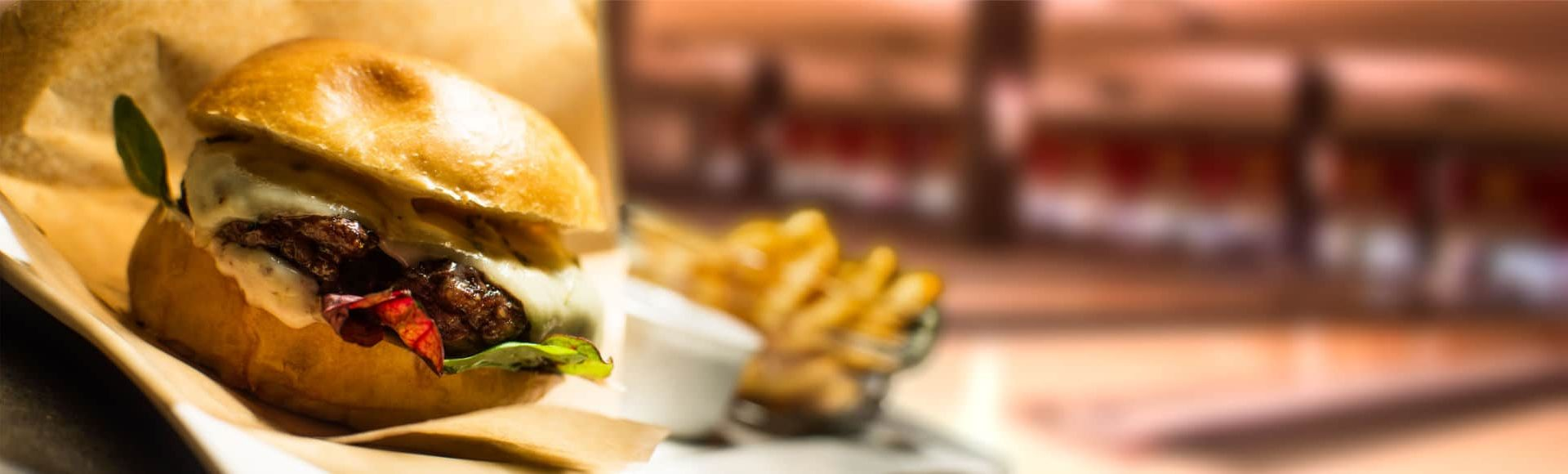 Hamburgare Odenplan - Bowl 'n' burger paketerbjudande